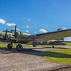"Boeing B-17G Fortress II G-BEDF ""Sally B"" by Colin Smedley"