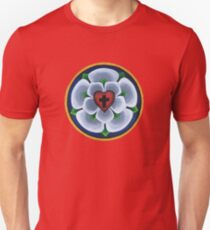 Luther's Rose Christian Seal Unisex T-Shirt