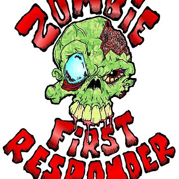Zombie First Responder by Skree