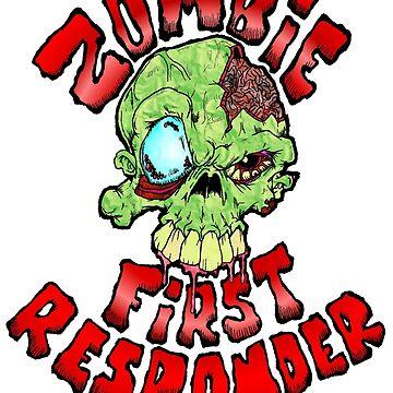 Zombie First Responder by Skree