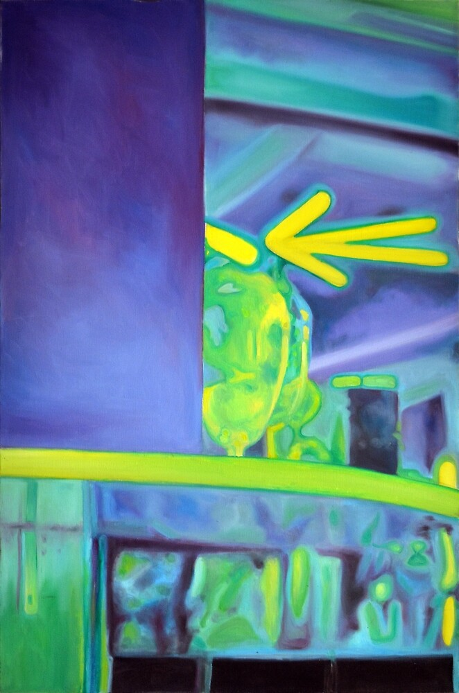 Detail, 2011, 80-120cm, oil on canvas by oanaunciuleanu