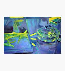 Ashtray, 2011, 120-80cm, oil on canvas Photographic Print
