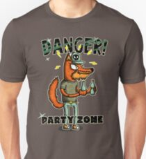 danger party zone wolf T-Shirt
