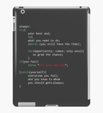 Geek Coder iPad Case/Skin