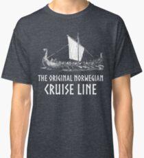 Viking Boat> Original Norwegian Cruise Line> Viking Classic T-Shirt