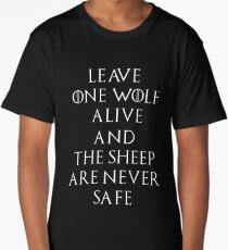 Game of Thrones Season 7 Arya Stark Quote Long T-Shirt