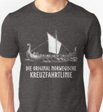 Wikingerboot > Original norwegische Kreuzfahrtlinie > Wikinger Unisex T-Shirt