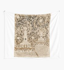 Continuation in Albumen Wall Tapestry