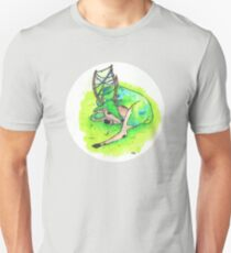 Moss Sleeping Deer  T-Shirt