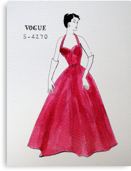 Vogue 1950s by Mike Paget