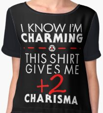 Charismatic Unisex T-Shirt- Dungeons and Dragons Women's Chiffon Top