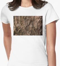 Bark 2 Womens Fitted T-Shirt