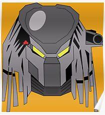 Retro Predator Poster