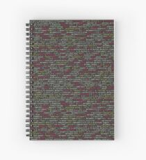 Encoded Spiral Notebook