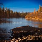 Fall Colours on the McQuestern River by Yukondick