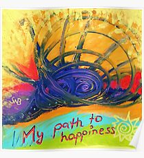My Path to Happiness Poster