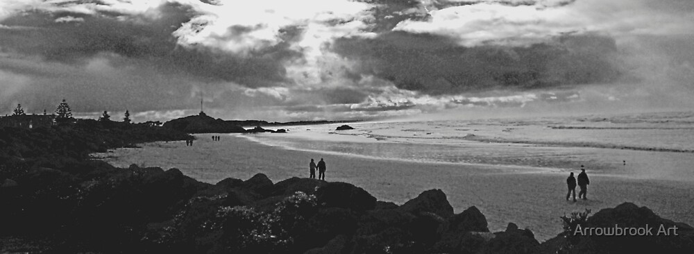 Evening stroll by John Brotheridge