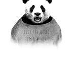 Fuck die Welt, ich bin ein Panda. von 24julien
