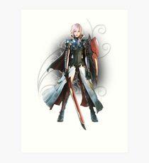 Final Fantasy Lightning Returns - Lightning (Claire Farron) Art Print