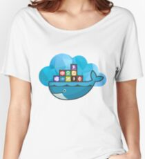 Docker and Microsoft Azure Women's Relaxed Fit T-Shirt