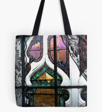 Neon Stained Glass Tote Bag