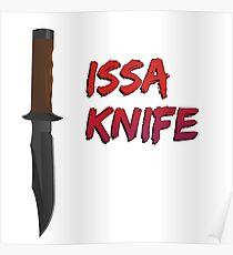 "21 Savage ""Issa Knife"" Poster"