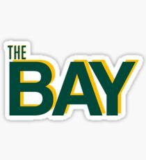 The Bay (A's-Themed) Sticker