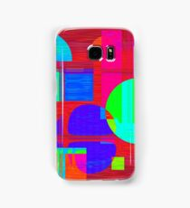 Re-Created Building Blocks IV by Robert S. Lee Samsung Galaxy Case/Skin