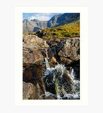 Skye, Scotland - Elgol, Fairy Pools Art Print
