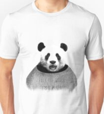 F*ck the world, I'm a Panda. T-Shirt