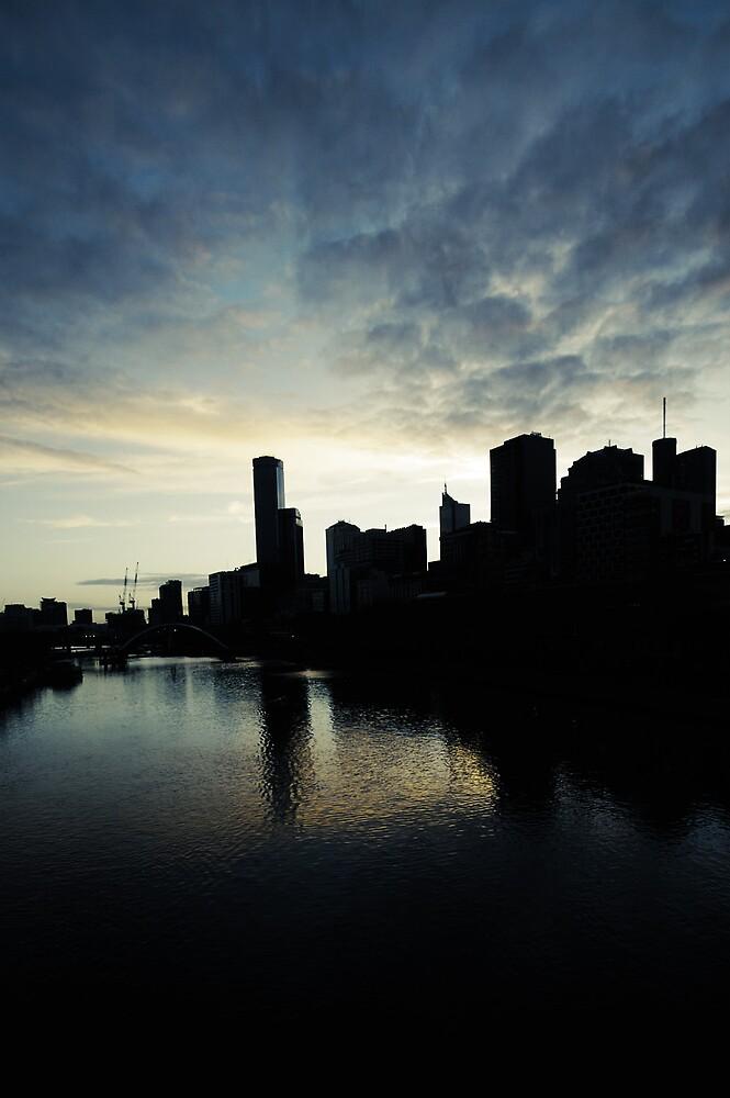 Melbourne Sky by MichaelA