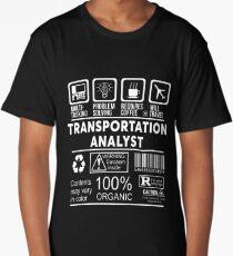 TRANSPORTATION ANALYST - NICE DESIGN 2017 Long T-Shirt