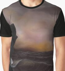 A Stormy Ocean Graphic T-Shirt