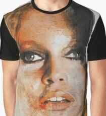 Brigitte Bardot - Watercolor painting Graphic T-Shirt