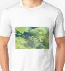Marsh Frog Resting on Lilypad T-Shirt