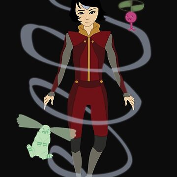 Jinora and Spirits by goodgonegirl