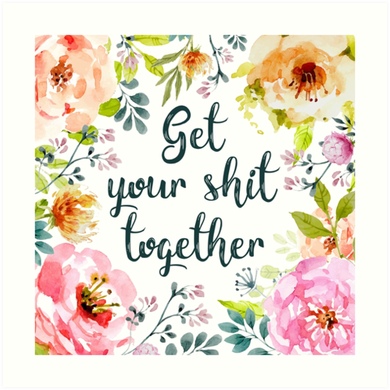 «Junten su mierda» de birchandbark