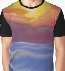 A Pastel Seascape  Graphic T-Shirt