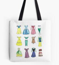 Princess Dresses Tote Bag