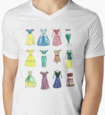Princess Dresses Men's V-Neck T-Shirt