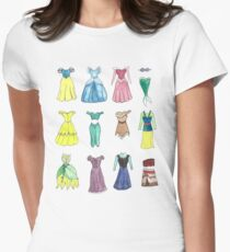 Princess Dresses Women's Fitted T-Shirt
