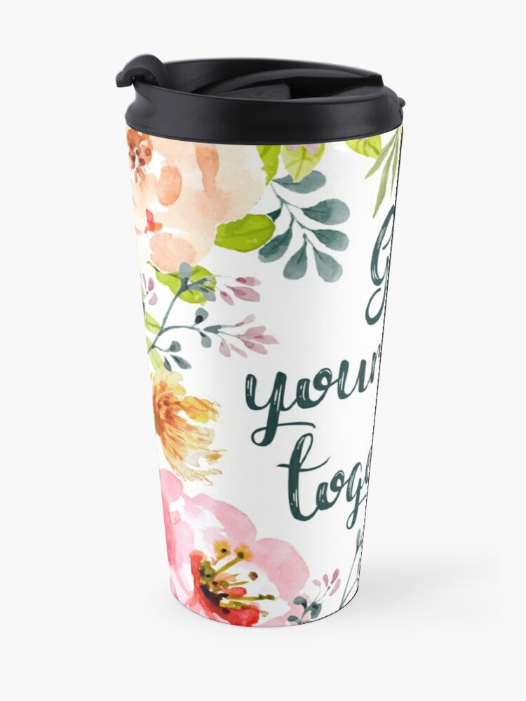 Alternate view of Get your shit together Travel Mug