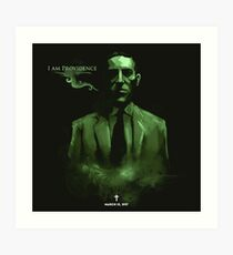 H.P. Lovecraft Art Print
