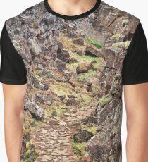 Rugged Rift Valley Trail - Thingvellir Graphic T-Shirt