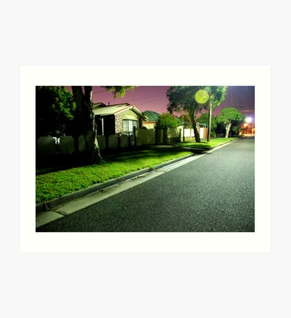 Night Scene 2 Art Print