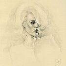Womans portrait by meastbrook