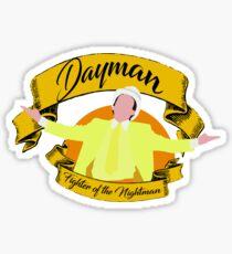 Dayman Sticker