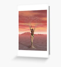 Eve : Lost Eden Greeting Card