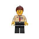 LEGO Female UK Scout Leader by jenni460