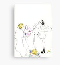 Yoga Art Canvas Print